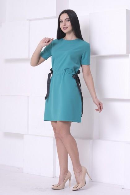 Платье с завязками